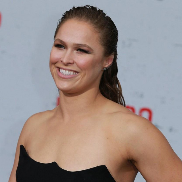 """WESTWOOD, CA - AUGUST 09: Ronda Rousey attends the Premiere Of STX Films' """"Mile 22"""" at Westwood Village Theatre on August 9, 2018 in Westwood, California. Leon Bennett,Image: 382026459, License: Rights-managed, Restrictions:, Model Release: no, Credit line: Leon Bennett/Getty images/Profimedia"""