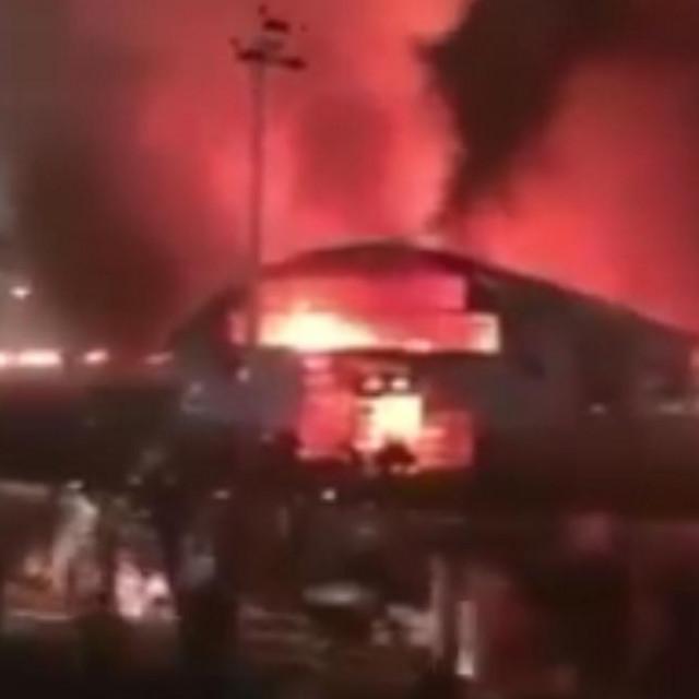Požar u covid bolnici u Iraku
