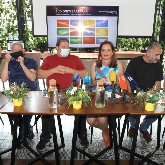 Petar Lovrić, Dražen Boban, Vedran Jakominić. Jelena Tabak, Dražen Biljan, Joso Smolić<br />