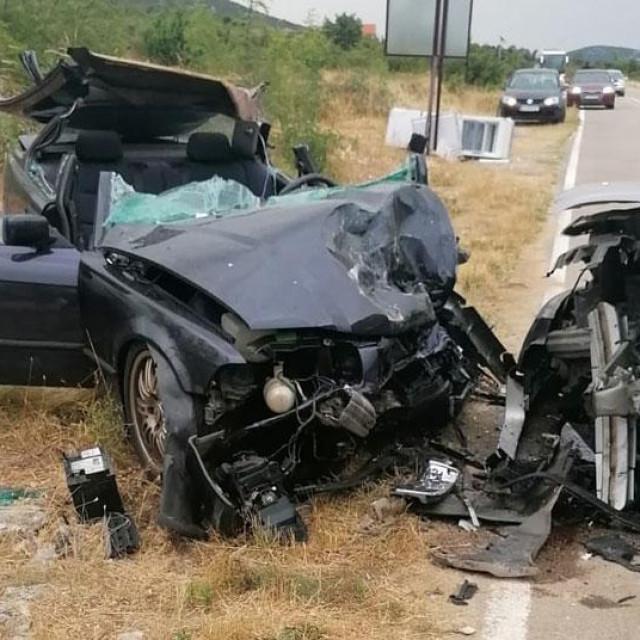 Prometna nesreća na cesti Pirovac-Kašić