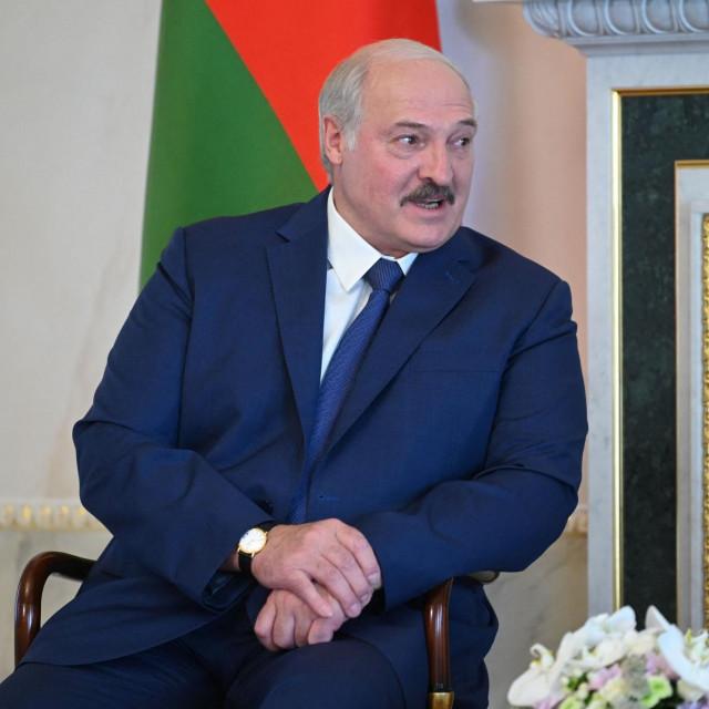 Bjeloruski predsjednik Aleksandar Lukašenko