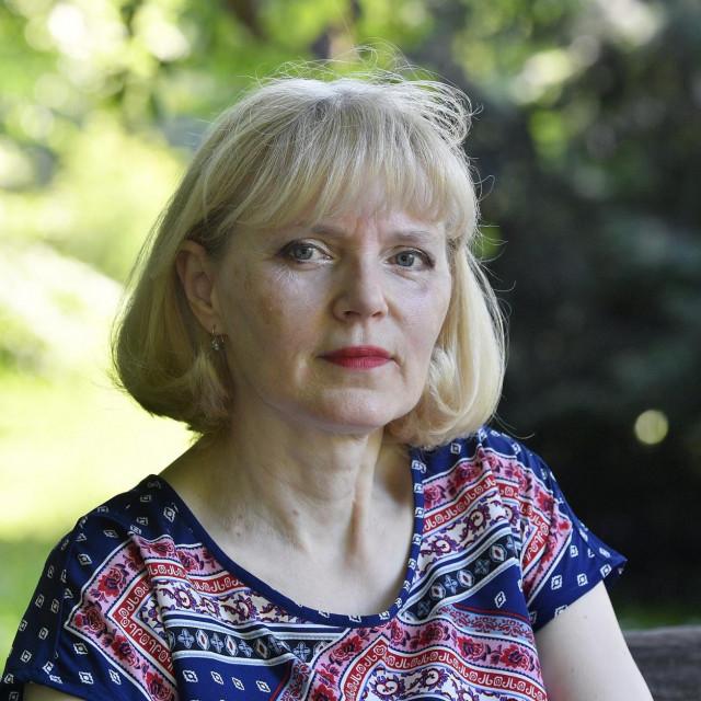 Vesna Babok,umirovljena ekonomistica