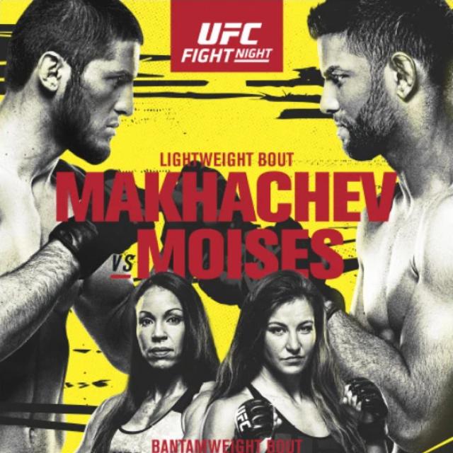 Makhachev vs. Moises