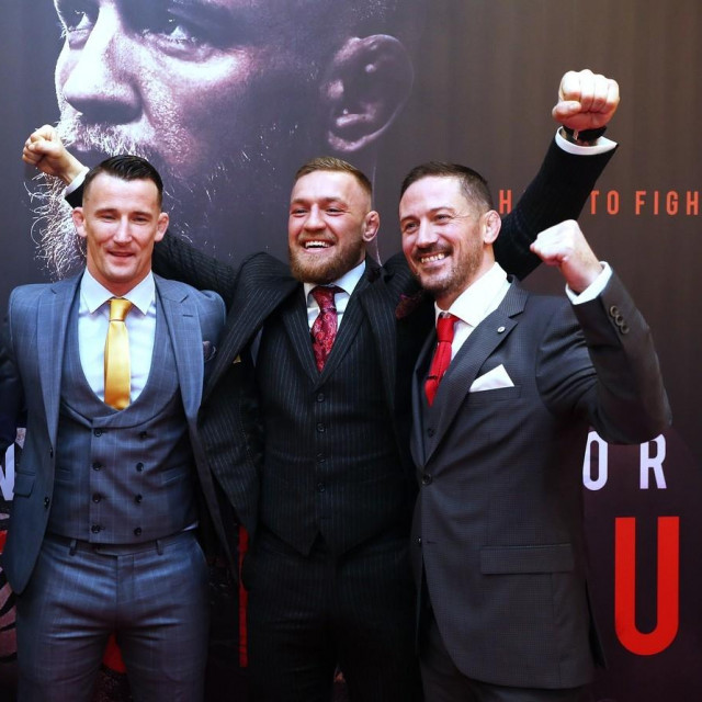 Artem Lobov, Owen Roddy, Conor McGregor i John Kavanagh