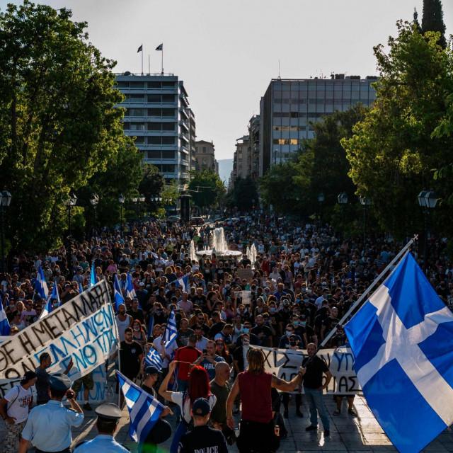 Prosvjedi u Ateni