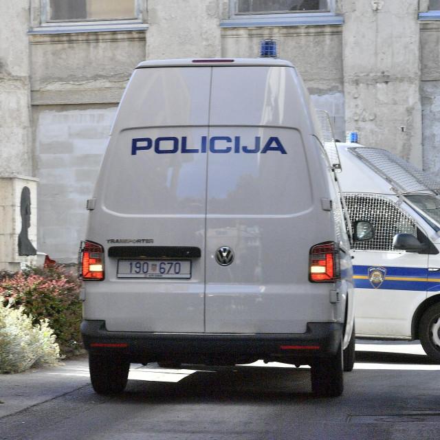 Privođenje na ispitivanje Patrika Šegote i ostalih osumnjičenika