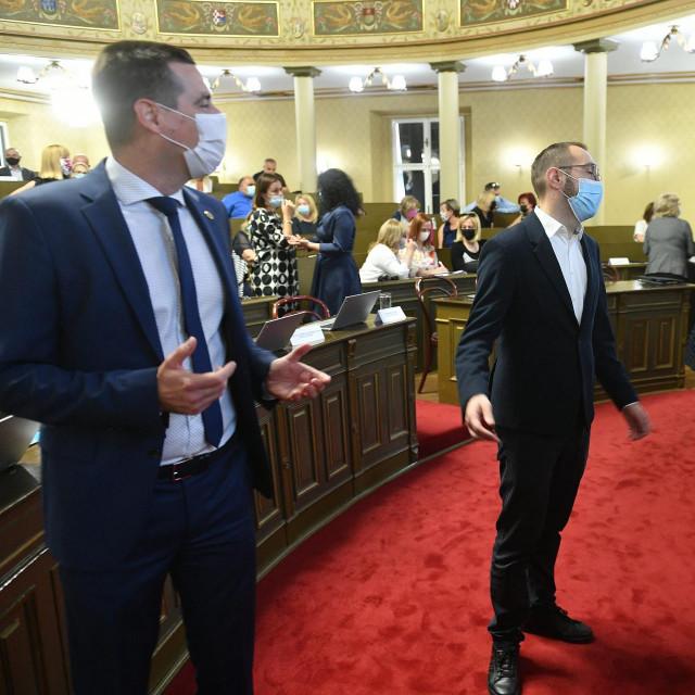 Mislav Herman i Tomislav Tomašević