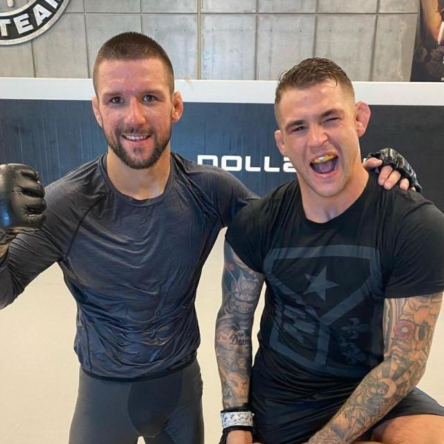Mateusz Gamrot i Dustin Poirier