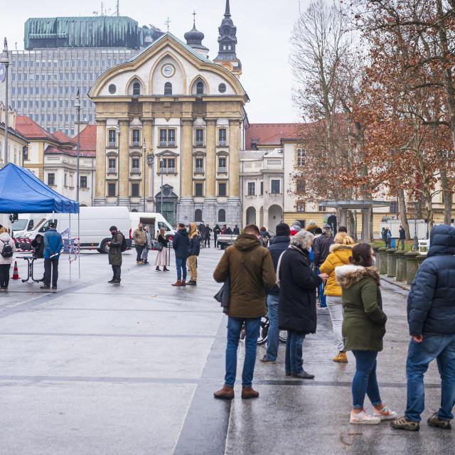 Testiranje u Ljubljani
