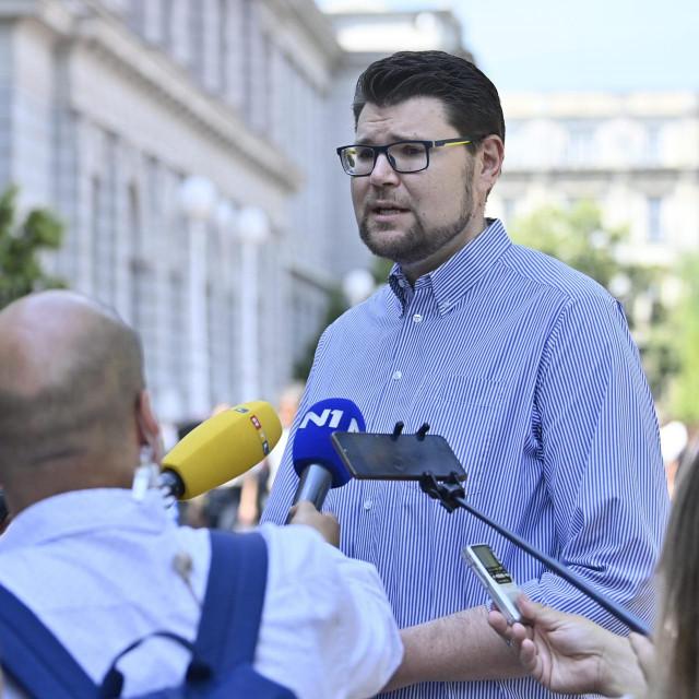 Peđa Grbin, predsjednik SDP-a