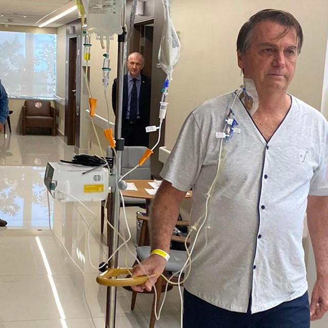Jair Bolsonaro u bolnici