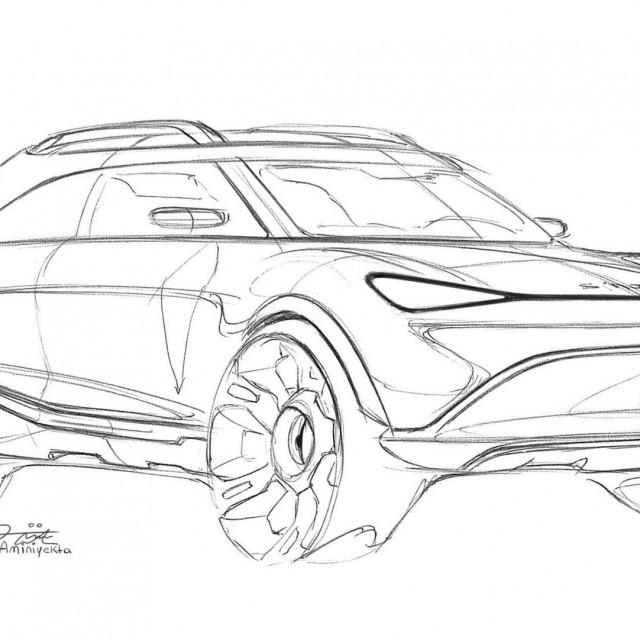 2023 Smart EV Crossover koncept