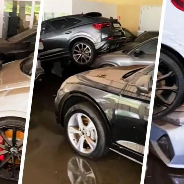 Poplava u Audijevom salonu