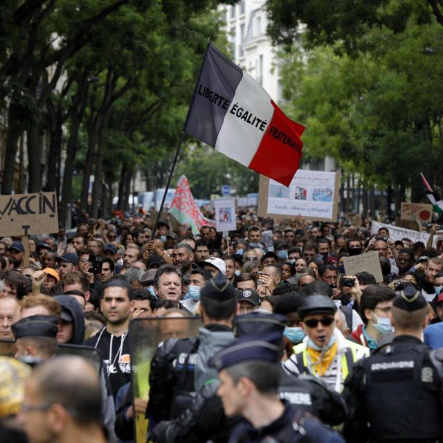 Prosvjedi u Parizu