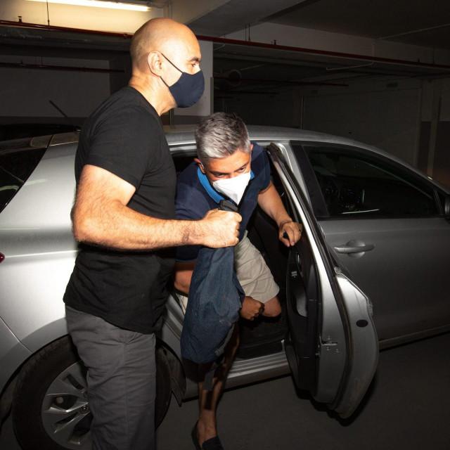 Uhićenje Patrika Šegote