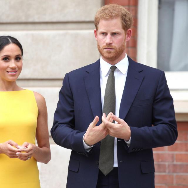 Princa Harry i Meghan Markle