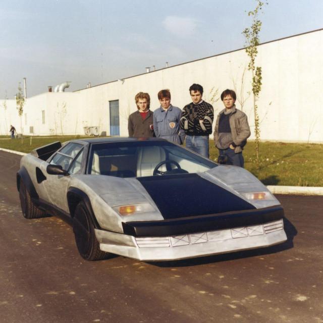 1987 Lamborghini Countach Evoluzione (prototip)
