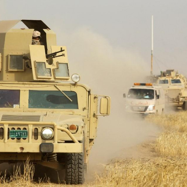 Humvee vozilo, ilustracija