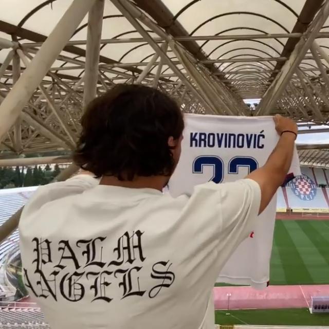 Filip Krovinović na Poljudu