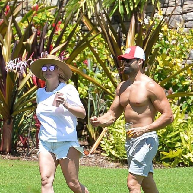 Britney Spears i Sam Asghari na odmoru