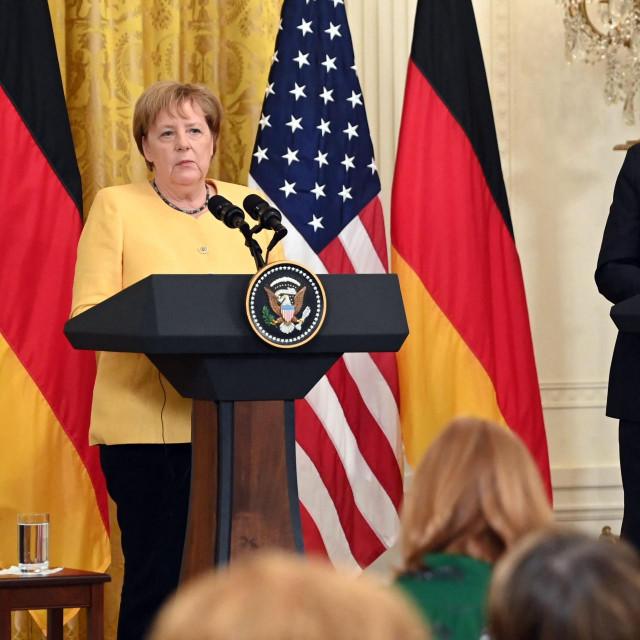 Angela Merkel iJoe Biden