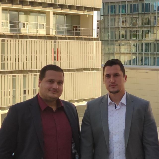 Doc. dr. Šime Jozipović i doc. dr. Marko Perkušić