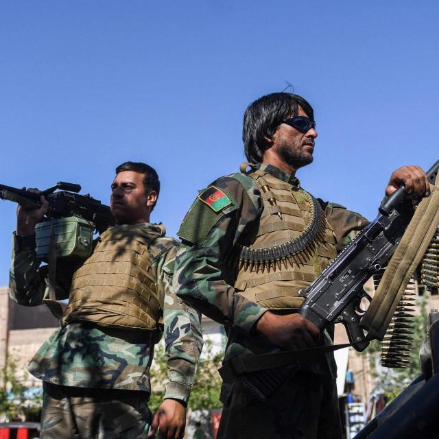 Pripadnici afganistanskih snaga