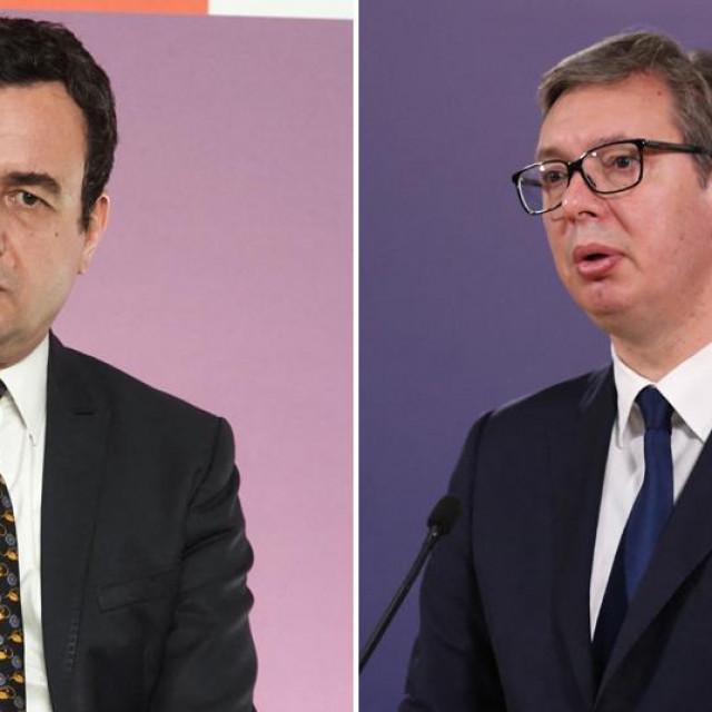 Albin Kurti i Aleksandar Vučić