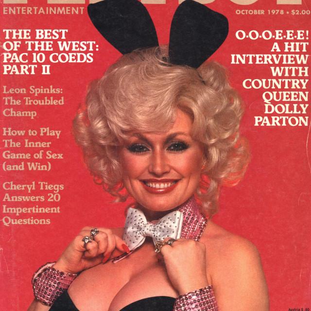 Dolly Parton na naslovnici Playboya, 1978.