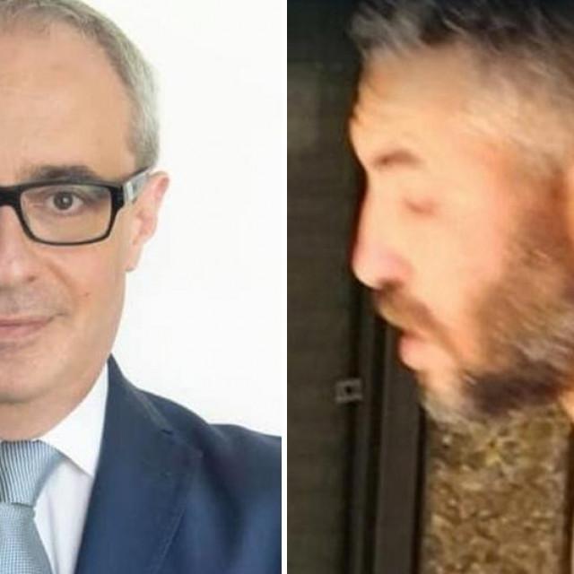 Massimo Adriatici (lijevo), Youns El Boussetaoui (desno)