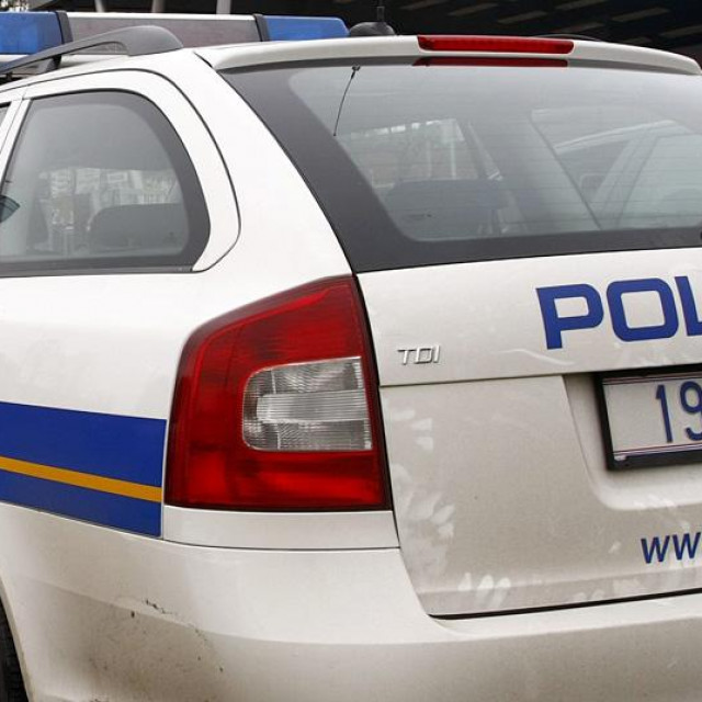 Ilustracija, policija