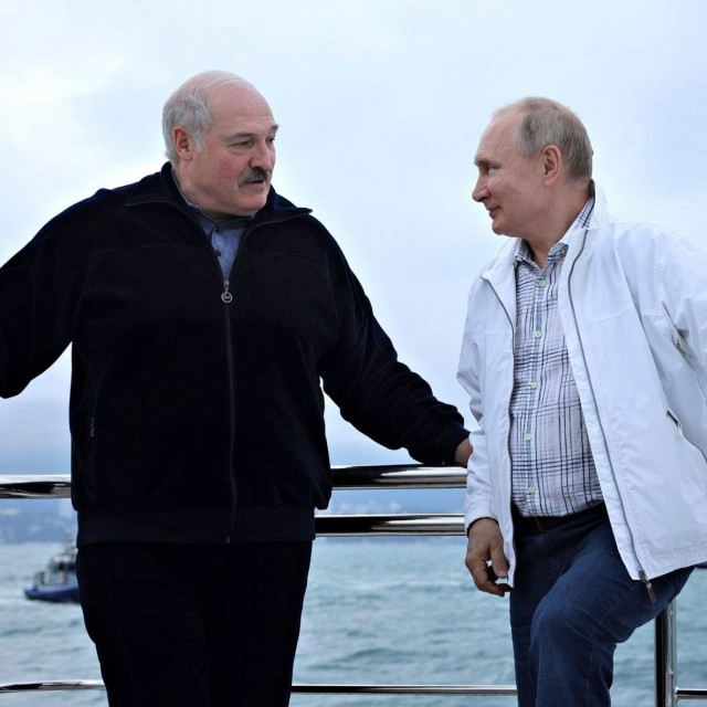 Lukašenko i Putin