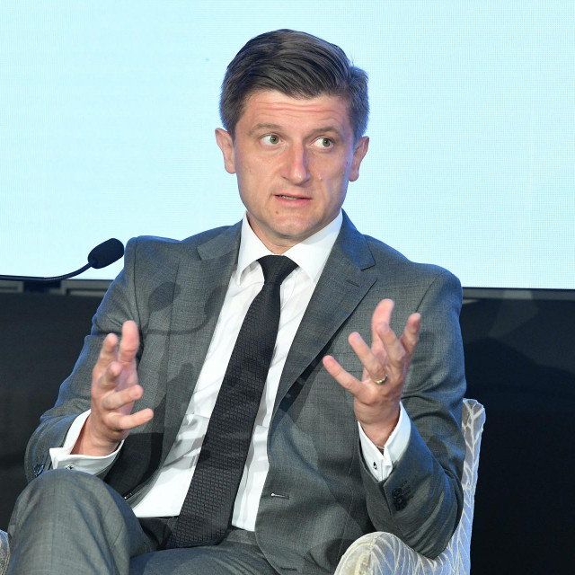 Zdravko Marić, ministar financija