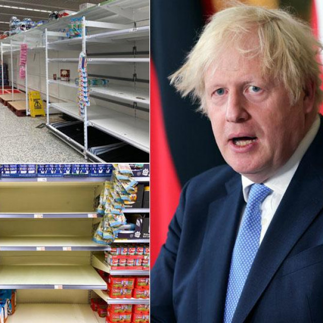 Nestašica u britanskim supermarketima
