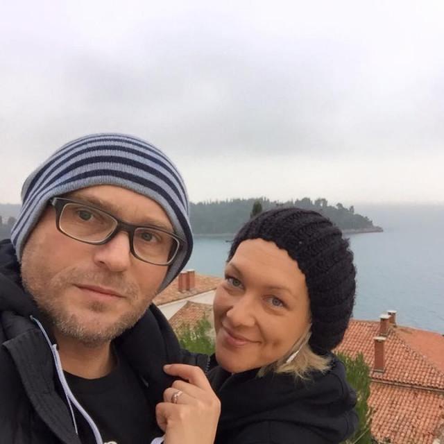 Neven Cvijanović i supruga Tamara