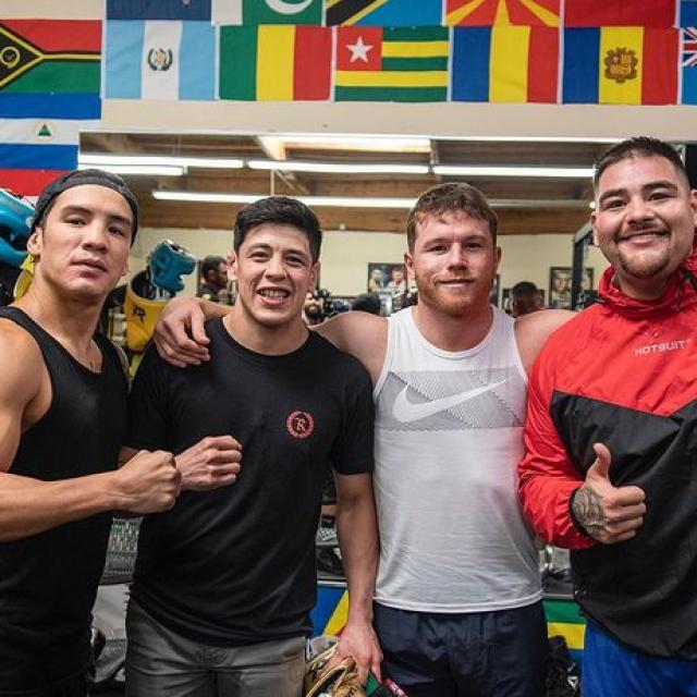 Oscar Valdez, Brandon Moreno, ''Canelo'' Alvarez i Andy Ruiz