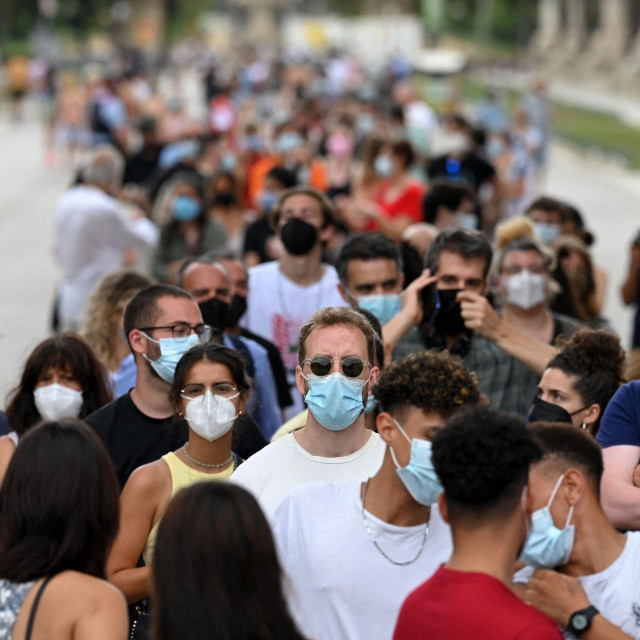 Akcija cijepljenja u Barceloni