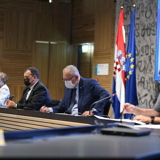 Konferencija za medije stožera civilne zaštite