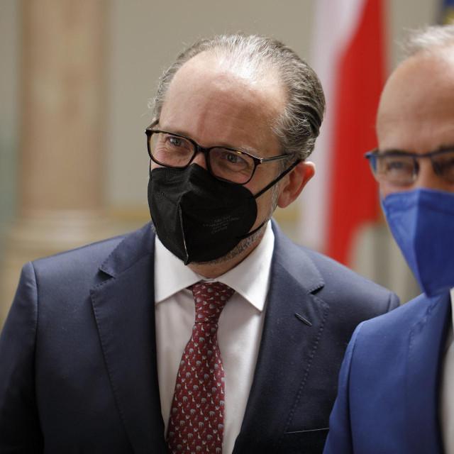 Alexander Schallenberg i Gordan Grlić Radman