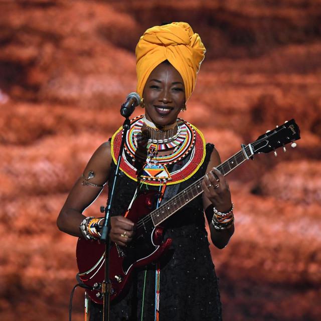 Fatoumata Diawara nastupila je 2019. godine na dodjeli nagrada Grammy