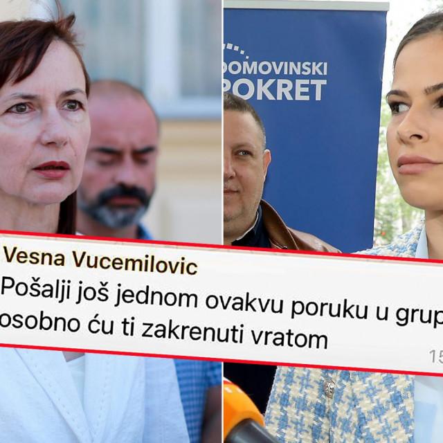 Vesna Vučemilović i Mateja Jozeljić
