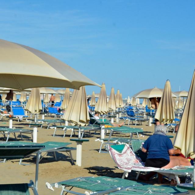 Plaža u Riminiju