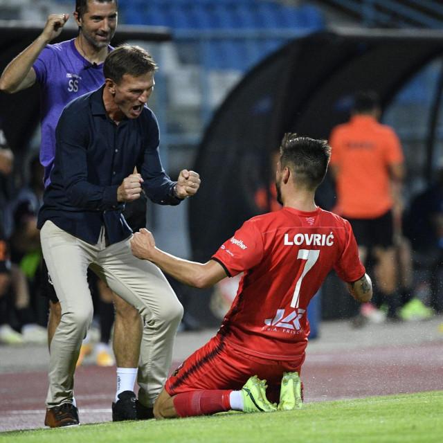 Trener Rendulić i Lovrić slave treći gol
