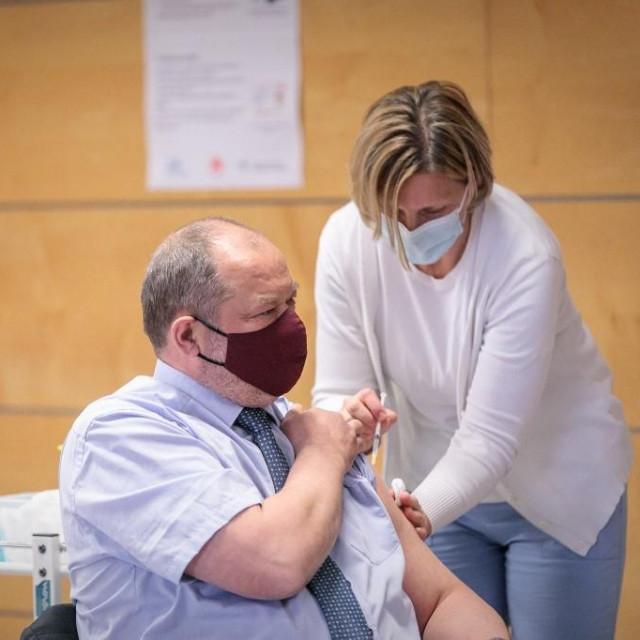 Cijepljenje u Ljubljani
