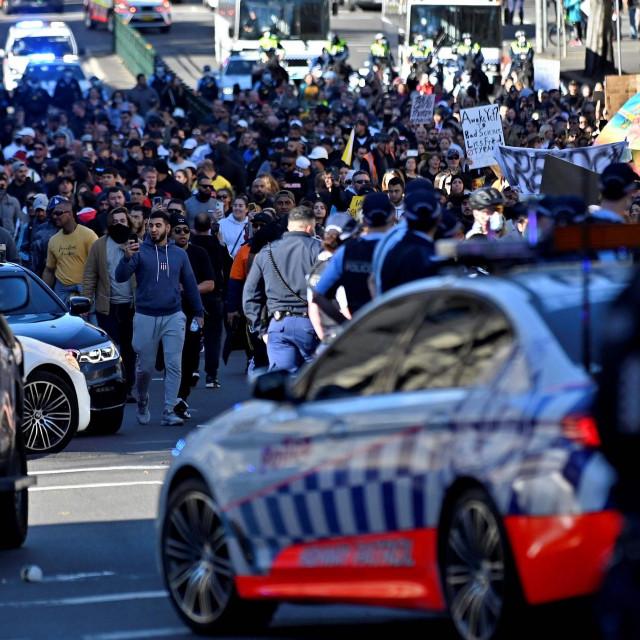 Prosvjed u Sydneyju