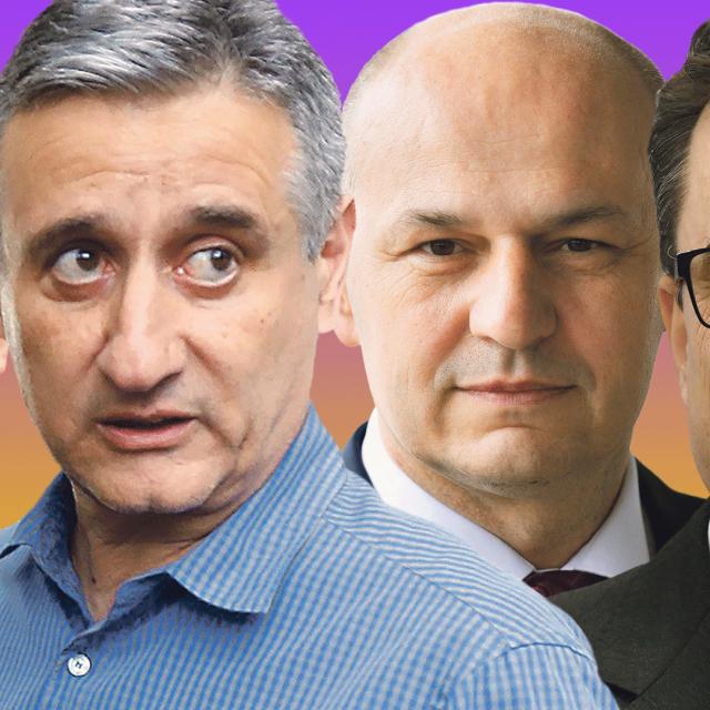 Ivan Penava, Tomislav Karamarko, Mislav Kolakušić, Damir Vanđelić