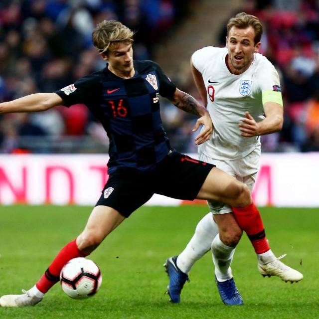 Tin Jedvaj protiv Harryja Kanea u Ligi nacija
