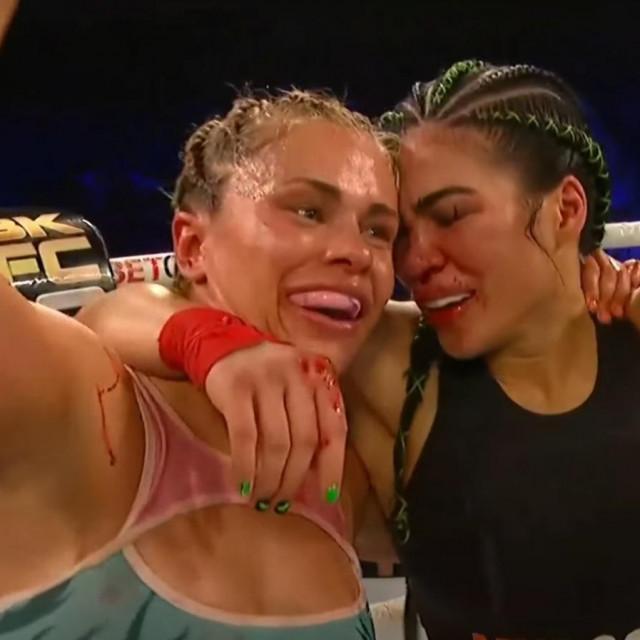 Paige VanZant i Rachael Ostovich