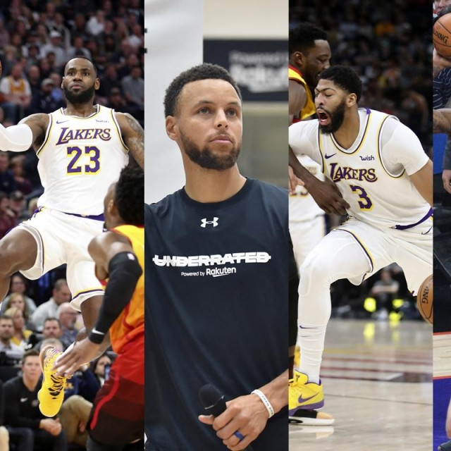LeBron, Curry, Davis i Leonard
