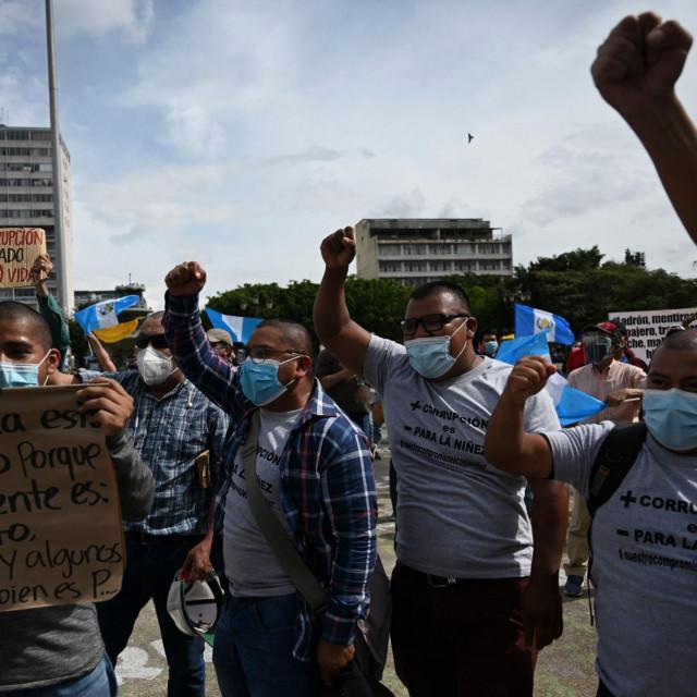 Prosvjed u Gvatemali